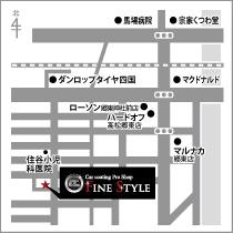 カーコーティング専門店 FILE STYLE インフォメーション 店舗マップ